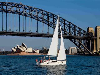 Sailing Sydney Harbour