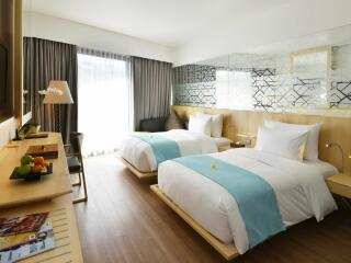Deluxe Room - Twin Bedding