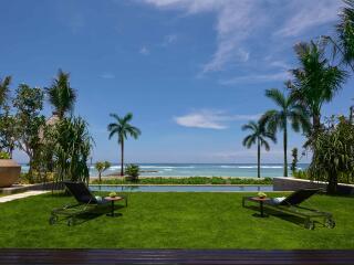 Oceanfront Villa Pool