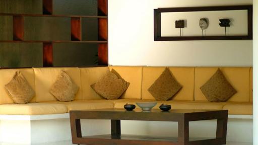 3 Bedroom Pool Villa Lounge Area