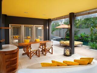 WOW Two Bedroom Pool Villa - Living Area