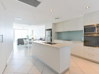 Kitchen to Dining & Lounge