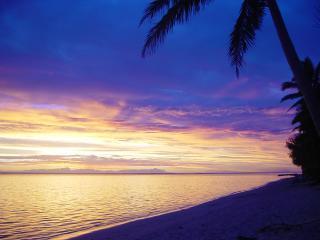 Moana Sands Cook Islands - Sunset