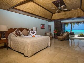 Beachfront Villa Suite Interior
