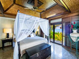 Ultimate Beachfront Villa Bedroom