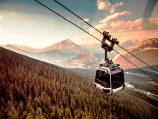 Rocky Mountaineer Gondola