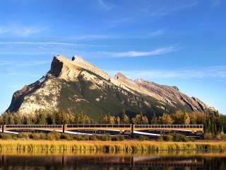 Rocky Mountaineer Train exterior