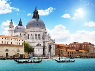 Santa-Maria-della-Salute,-Venezia