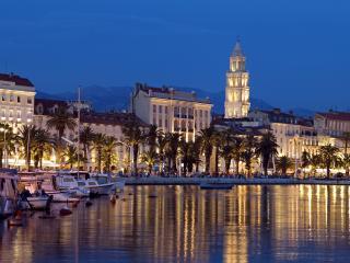 Split Croatia Dusk