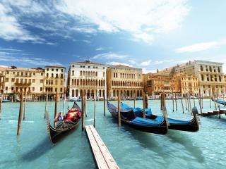 Venice - Gondolas in Venice