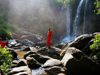 Monk Siem Reap Cambodia