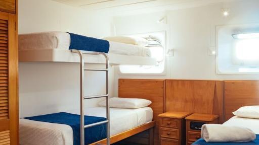 Captain Cook cabin