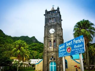 Colonial Cruise - Levuka Church