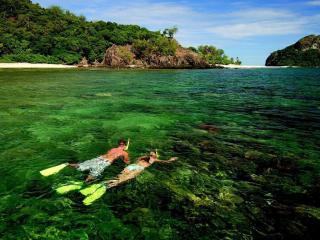 Captain Cook snorkelling
