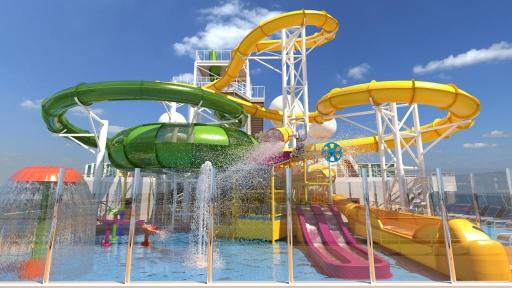 Carnival Splendor WaterPark
