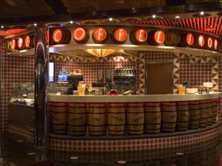 Carnival Splendor-Coffee Shop