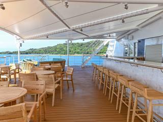 Coral Adventurer Bridge Deck & Bar