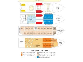 Coral Discoverer - Deck Plan