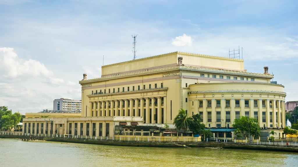 Philippines - Philippine Post Office along Pasig River