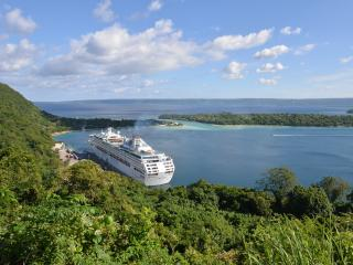 Vanuatu, Port Villa Harbour, Cruise Ship