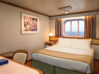 Sapphire Princess Ocean View Cabin