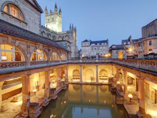 Roman Baths in Bath Avon