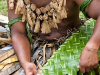 Fijian Palm Weaving