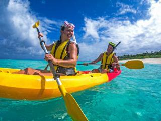Tivua island Cruise - Kayaks
