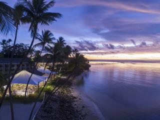 Lagoon Beach at Sunset