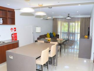 Apartment Kitchen & Living