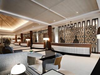 Lobby (architects impression)