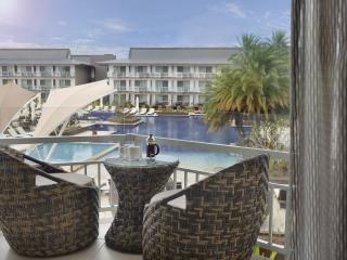 Poolside Balcony View