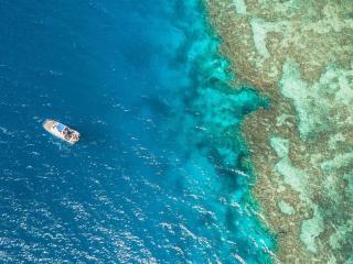 Aerial View - Reef