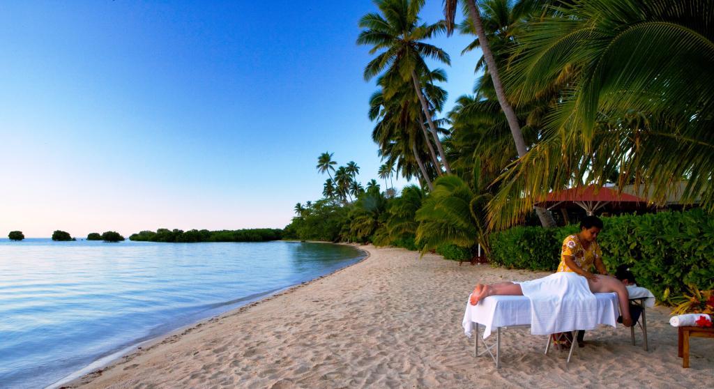 Nukubati Private Island, Great Sea Reef, Fiji Resort