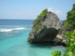Bali Rocky Coastline