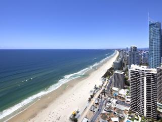 Aerial of Gold Coast Coastline