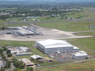 Nadi Airport Aerial View