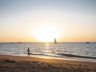 Sunset at Cullen Bay Beach