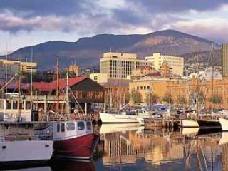 Hobart from the Water