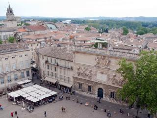 Avignon - The Central Square of Avignon
