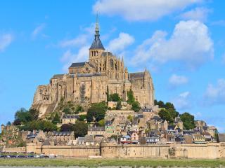 Mont Saint Michel Abbey, Lower Normandy