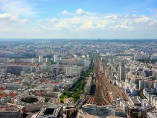 Montparnasse Station Aerial View