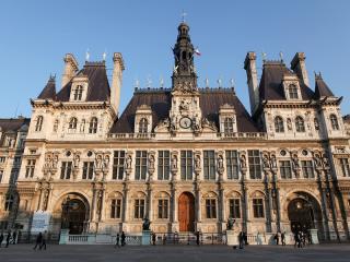 Paris Town Hall in the Marais District