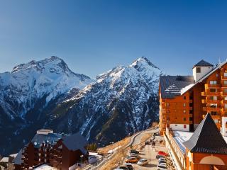 Ski Resort in the French Alps