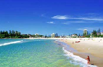 Beaches Of The Gold Coast