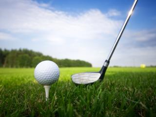 Generic Stock Images - Golf Club and Ball