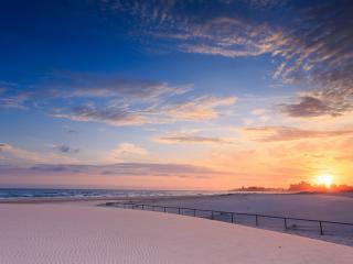 Kirra Beach At Sunrise