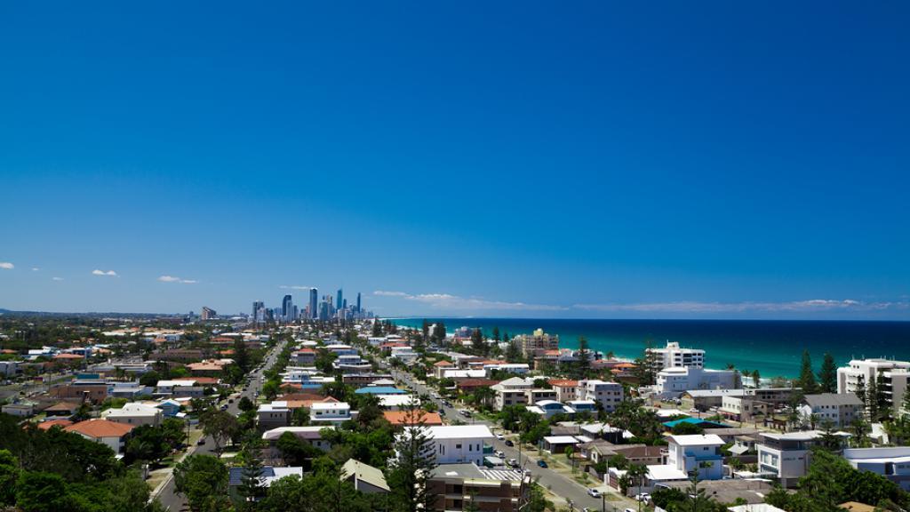 Views of Mermaid Beach