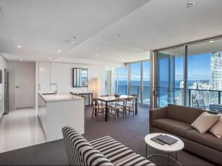 2 Bedroom Ocean Residence Living