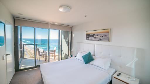 Ocean View Apartment Bedroom